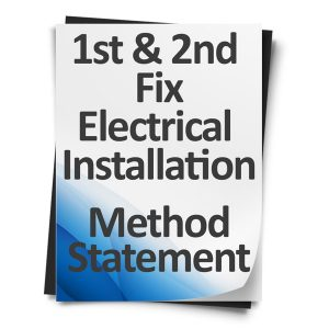 1st-&-2nd-Fix-Electrical-Installation-Method-Statement