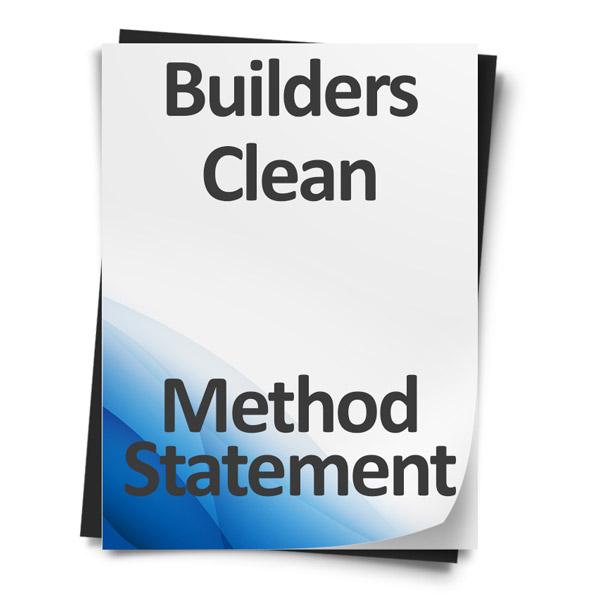 Builders-Clean-Method-Statement