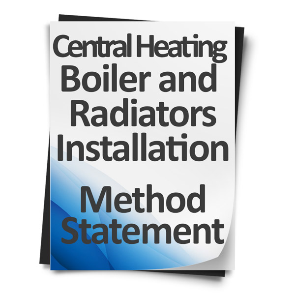 Download Method Statement - Central Heating Boilers & Radiators