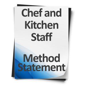 Chef-and-Kitchen-Staff-Method-Statement