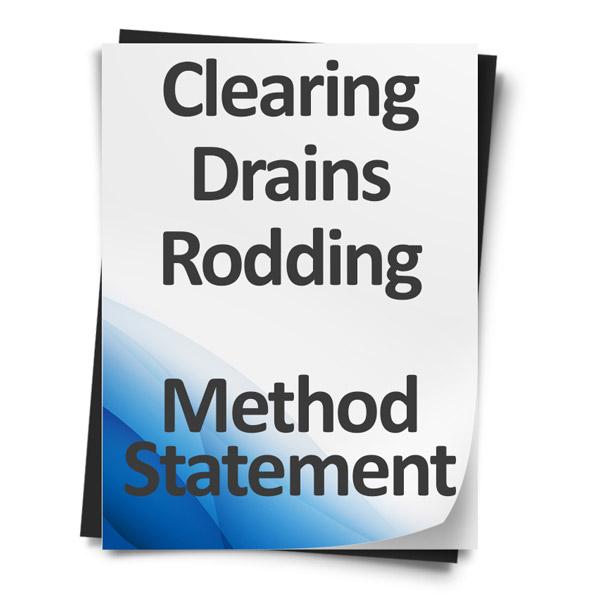 Clearing-Drains-Rodding-Method-Statement