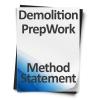 Demolition-Prep-Work-Method-Statement