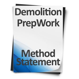 Demolition-Prep-Work-Method-Statement