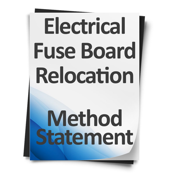 Electrical-Fuse-Board-Relocation-Method-Statement