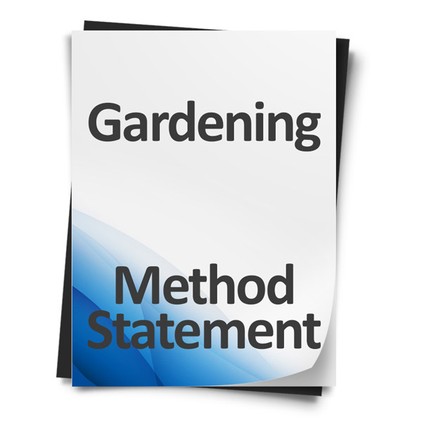 Gardening-Method-Statement