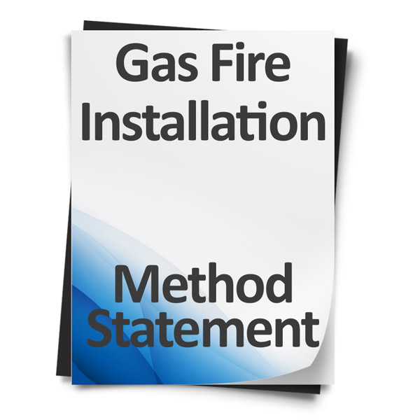 Gas-fire-Installation-Method-Statement