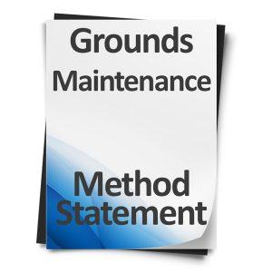 Grounds-Maintenance-Method-Statement