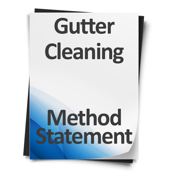 Gutter-Cleaning-Method-Statement