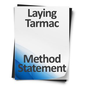 Laying-Tarmac-Method-Statement
