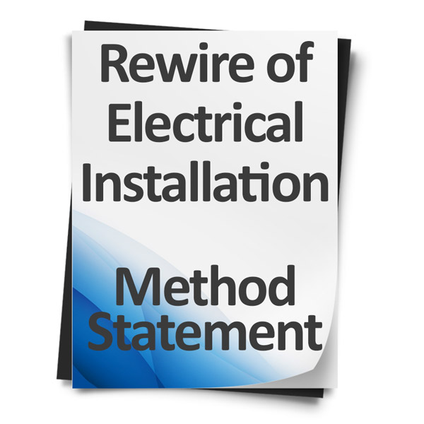 Rewire-of-Electrical-Installation-Method-Statement