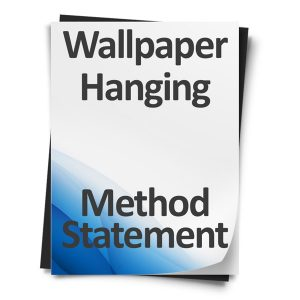 Wallpaper-Hanging-Method-Statement