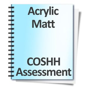 Acrylic-Matt-COSHH-Assessment