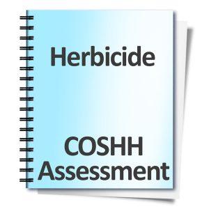 Herbicide-COSHH-Assessment